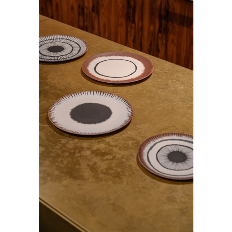 Urban Nature Culture-collectie Dinerbord bamboe 25 cm Vibration C