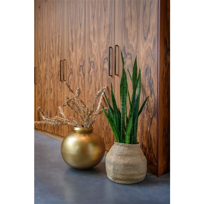 Urban Nature Culture-collectie Storage basket jute Round Natural
