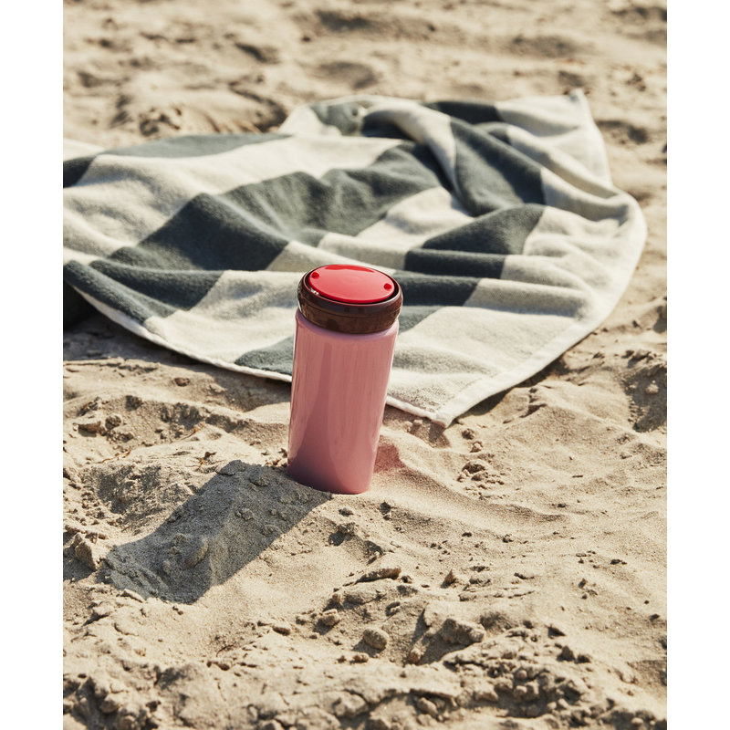 HAY-collectie Reis thermosbeker Roze 0,35 liter