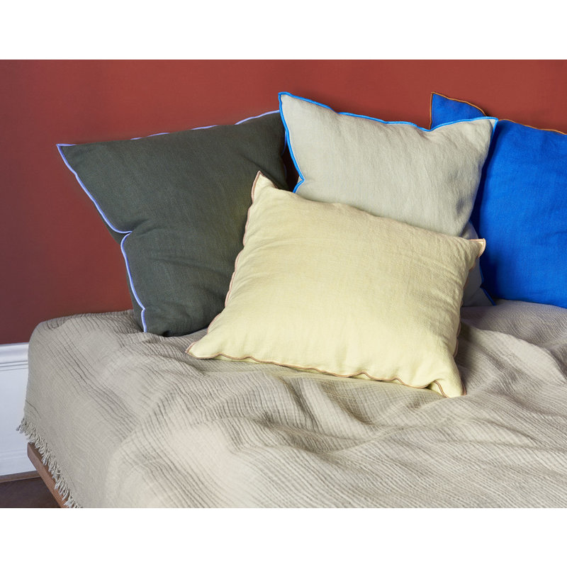 HAY-collectie Outline Cushion Grey blue