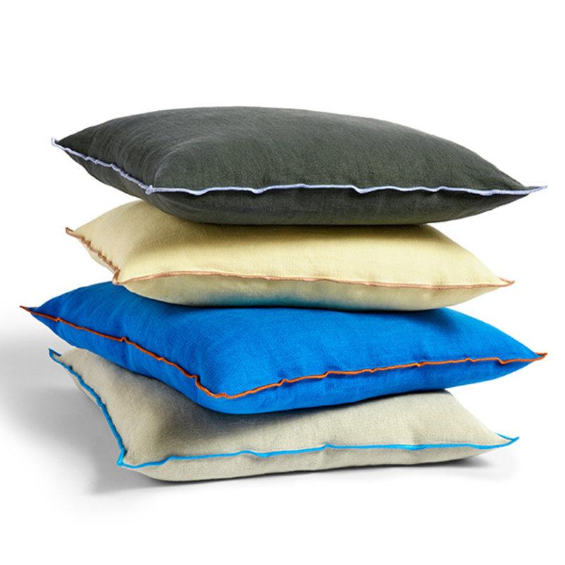 HAY-collectie Outline Cushion Vivid blue