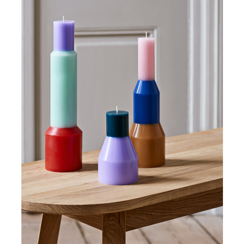 HAY-collectie Pillar Candle L Geel
