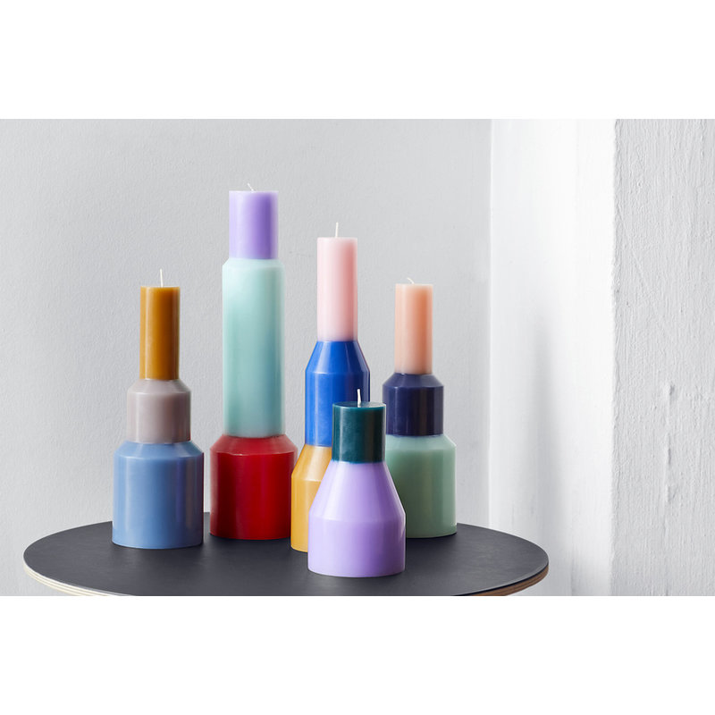 HAY-collectie Pillar Candle M Mint