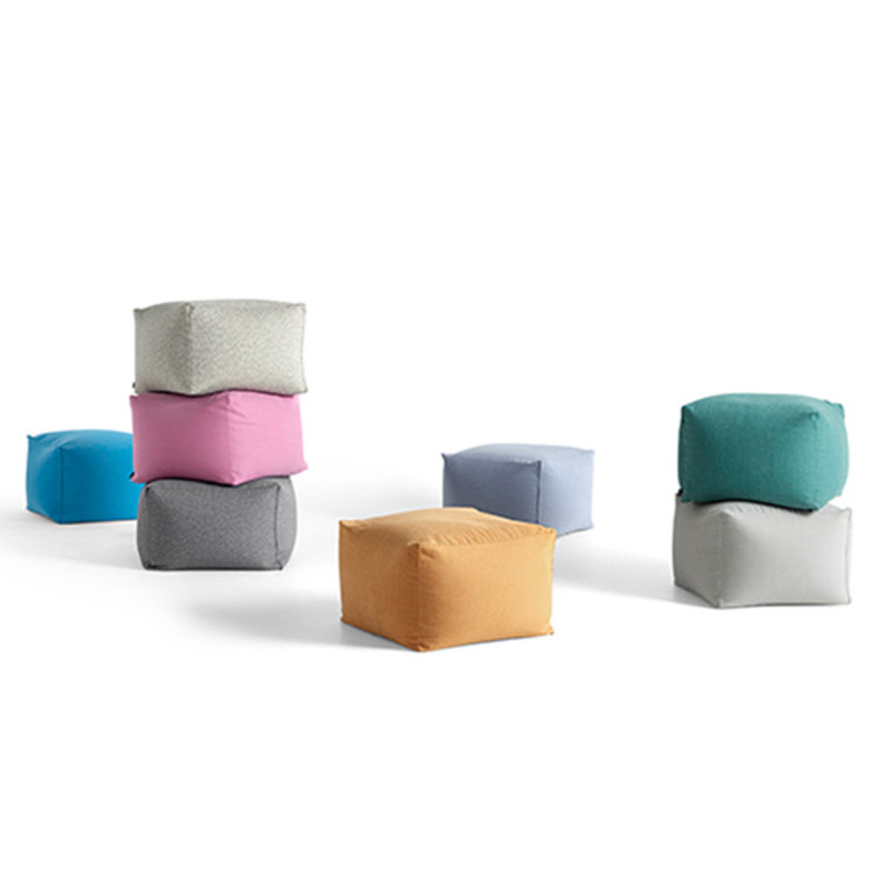 HAY-collectie Pouf Soft blue