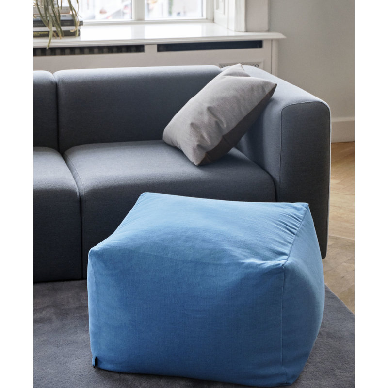 HAY-collectie Pouf Vivid blue