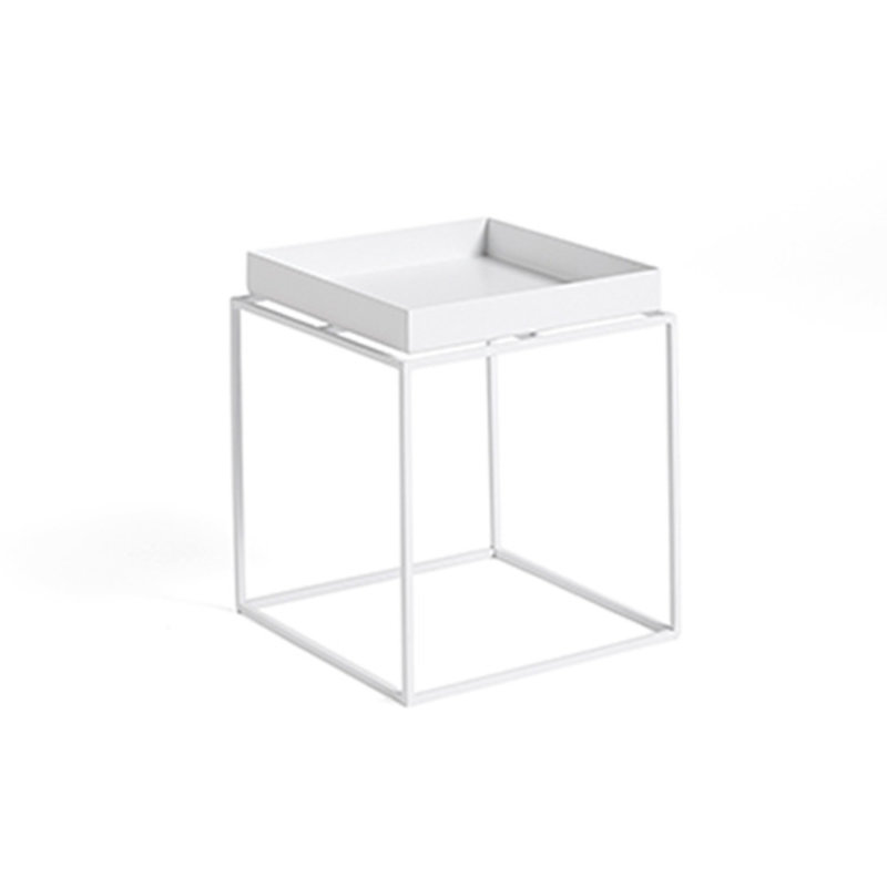HAY-collectie Tray Table S L30 x W30 White