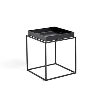 HAY Tray Table S vierkant L30 x W30 Zwart