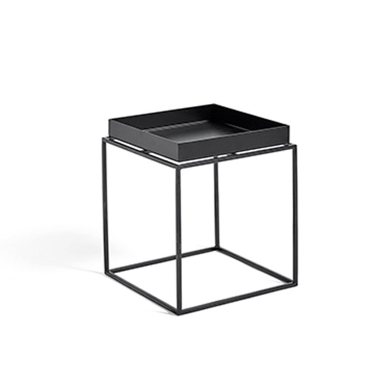 HAY-collectie Tray Table S vierkant L30 x W30 Zwart