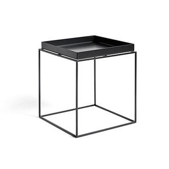 HAY Tray Table M vierkant L40 x W40 Zwart
