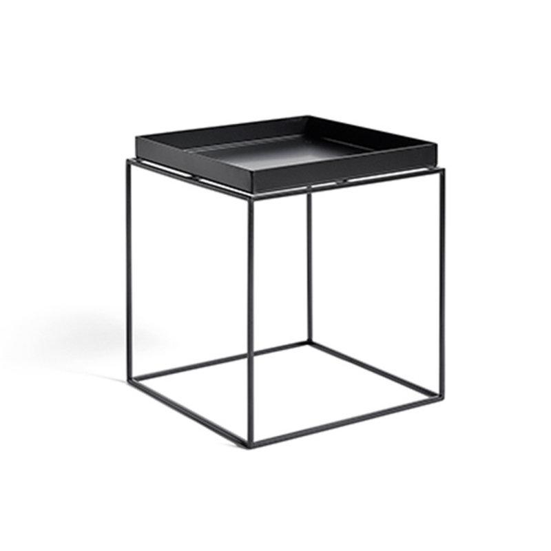 HAY-collectie Tray Table M L40 x W40 Black