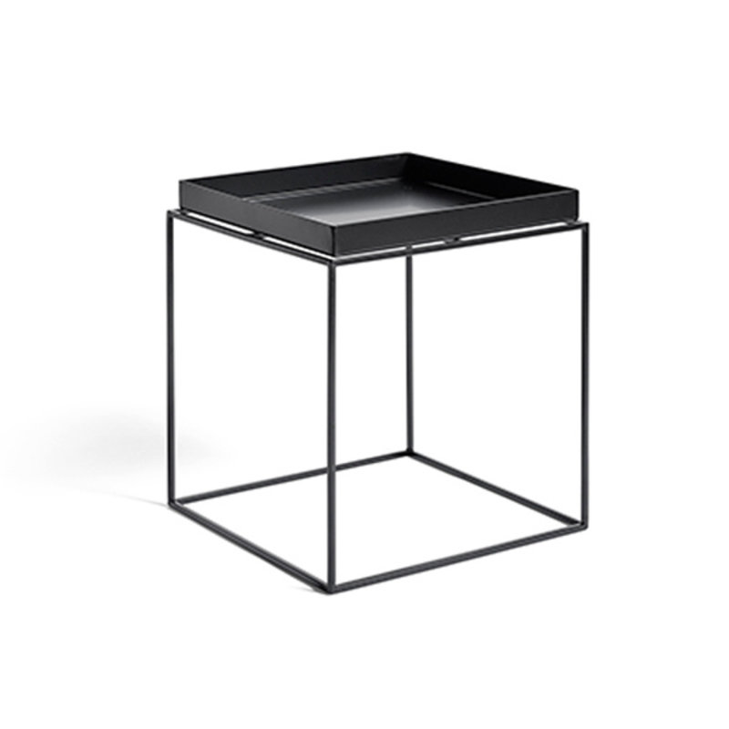 HAY-collectie Tray Table M vierkant L40 x W40 Zwart