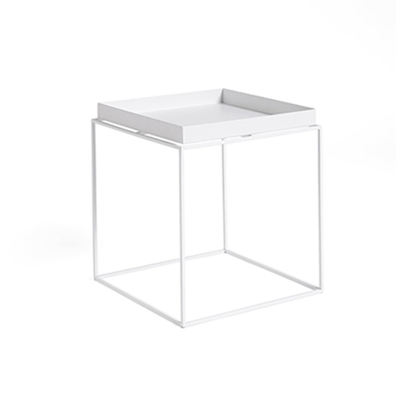 HAY-collectie Tray Table M vierkant L40 x W40 Wit