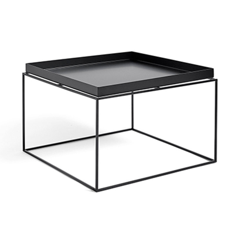 HAY-collectie Tray Table Coffee vierkant L60 x W60 Zwart