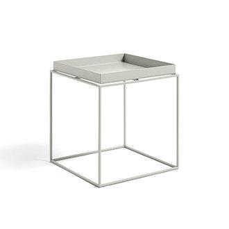 HAY Tray Table M vierkant L40 x W40 Warmgrijs