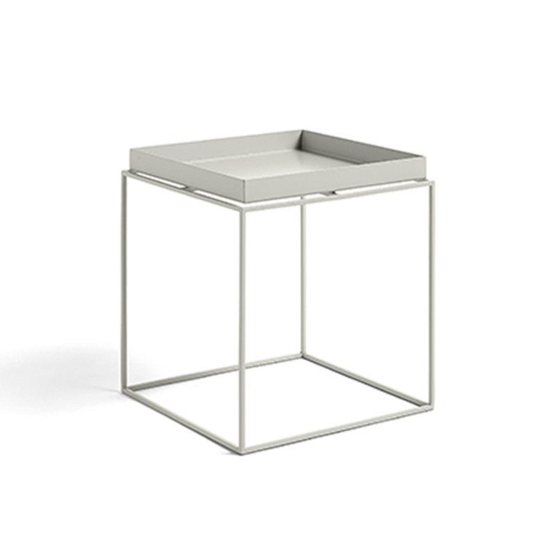 HAY-collectie Tray Table M L40 x W40 Warm grey