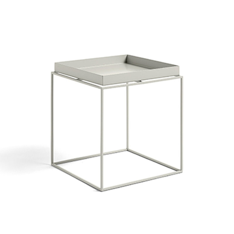HAY-collectie Tray Table M vierkant L40 x W40 Warmgrijs