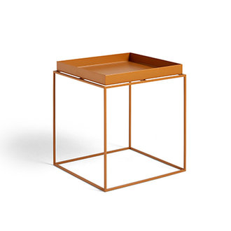 HAY Tray Table M vierkant L40 x W40 Toffee