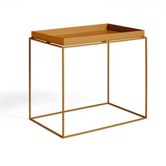 HAY Tray Table Side rechthoekig L40 x W60 Toffee