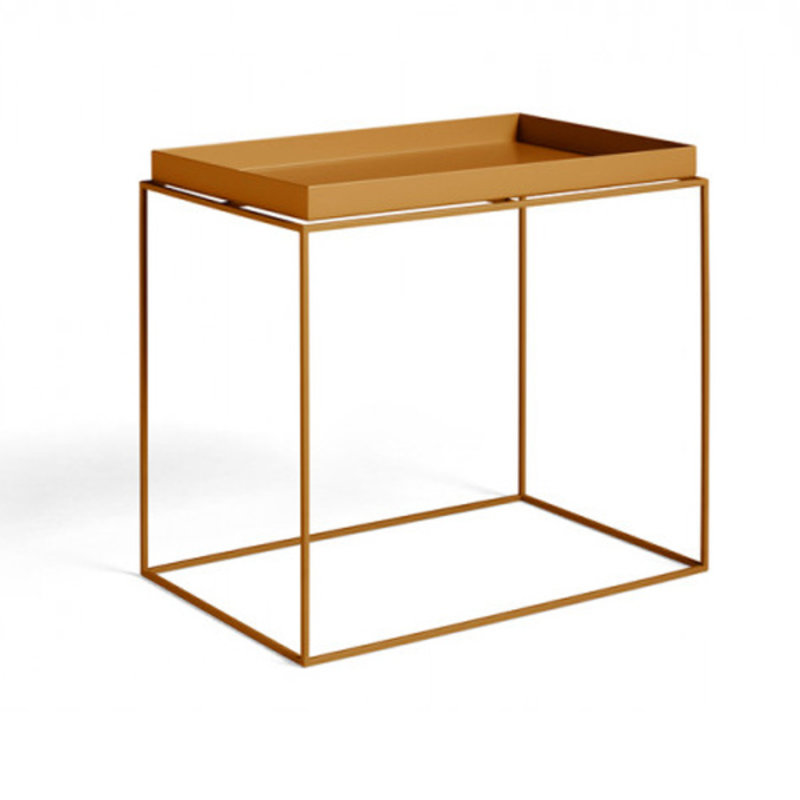 HAY-collectie Tray Table Side rechthoekig L40 x W60 Toffee