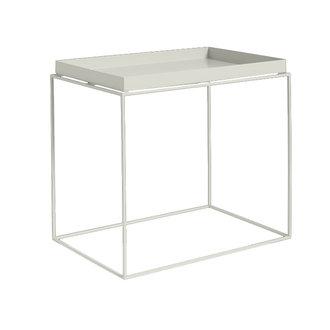 HAY Tray Table Side rechthoekig L40 x W60 Warmgrijs