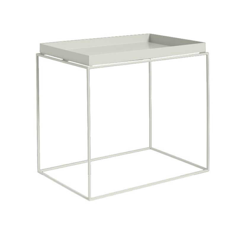 HAY-collectie Tray Table Side L40 x W60 Warm grey