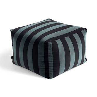 HAY Pouf Soft Stripe Hunter LIMITED EDITION