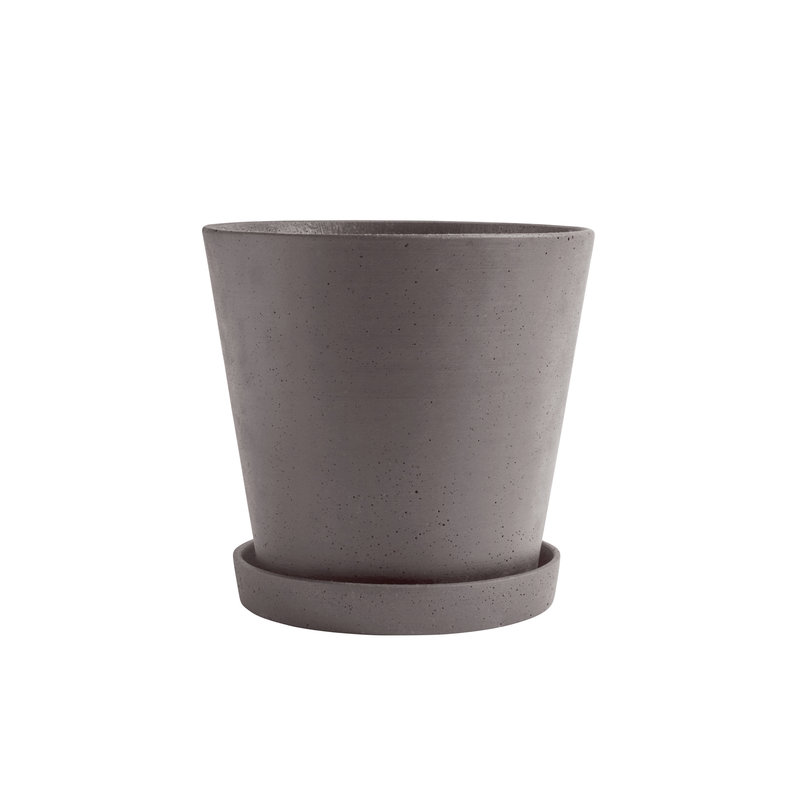HAY-collectie Flowerpot with Saucer XXL Plum