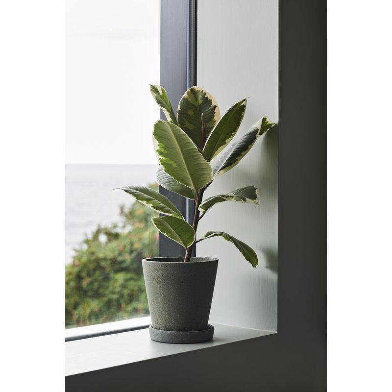 HAY-collectie Flowerpot with Saucer XXXL Green