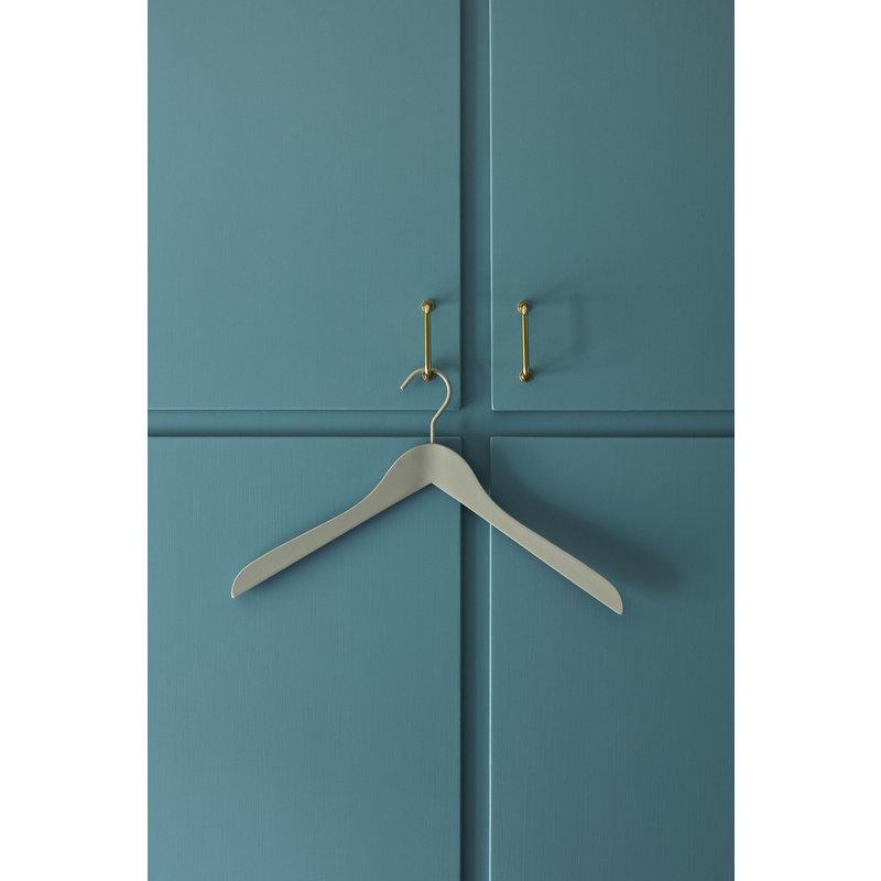 HAY-collectie Soft Coat Hanger 4 stuks Slim grijs
