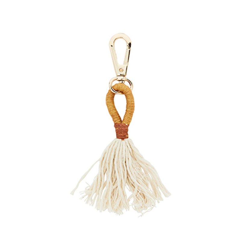 Madam Stoltz-collectie Key hanger mustard