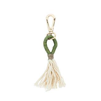 Madam Stoltz Key hanger green