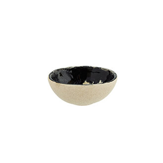 Madam Stoltz Small oval stoneware bowl