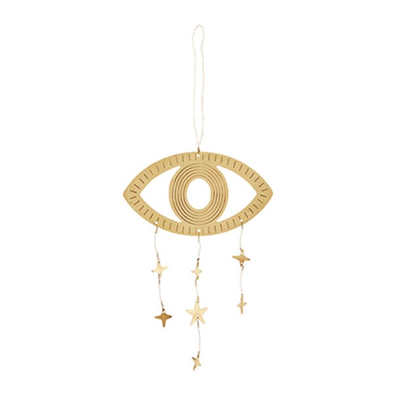 Madam Stoltz-collectie Hanging eye ornament w/stars