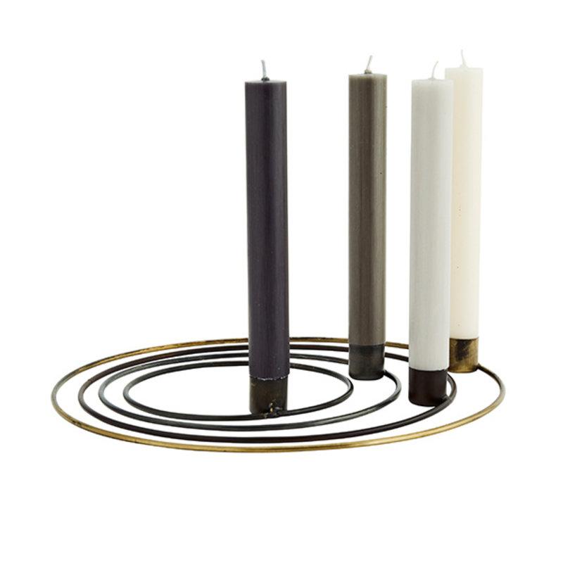 Madam Stoltz-collectie Round candle holders
