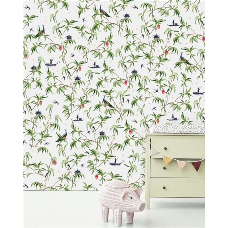 Creative Lab Amsterdam-collectie Chinese River Wallpaper Mural