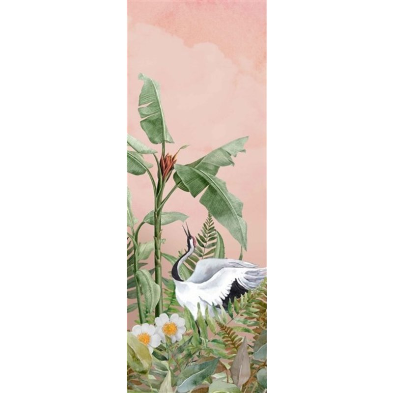 Creative Lab Amsterdam-collectie Dancing Crane Wallpaper Mural