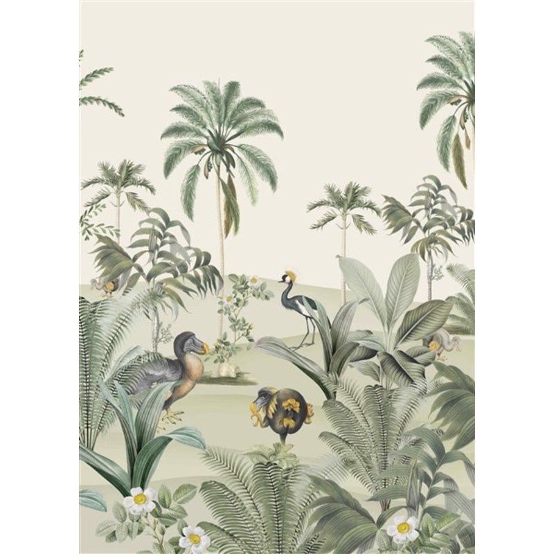Creative Lab Amsterdam-collectie Dodo Oasis behang Mural
