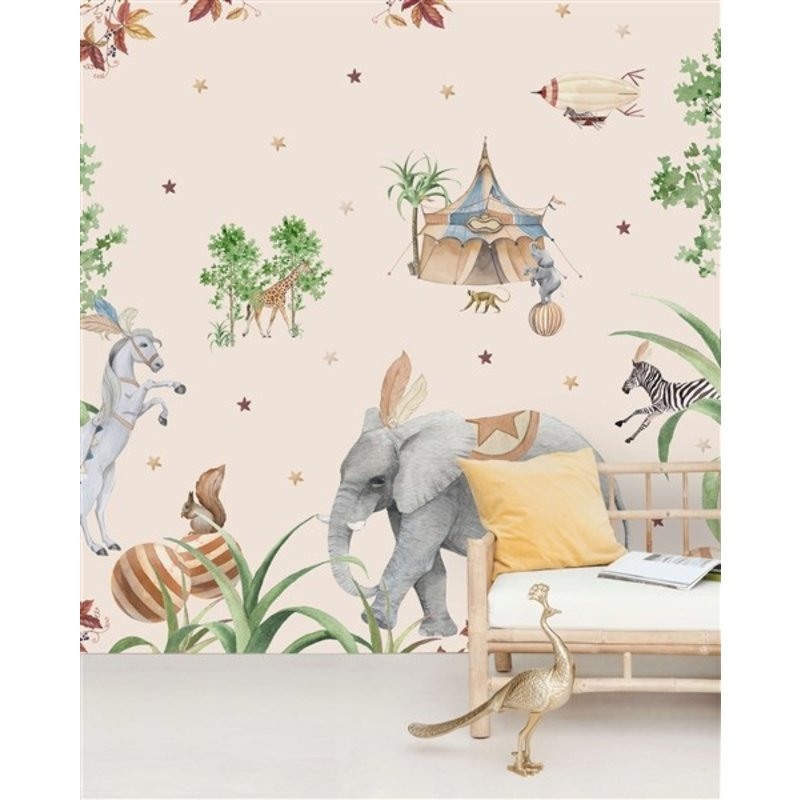 Creative Lab Amsterdam-collectie Elephant behang Mural