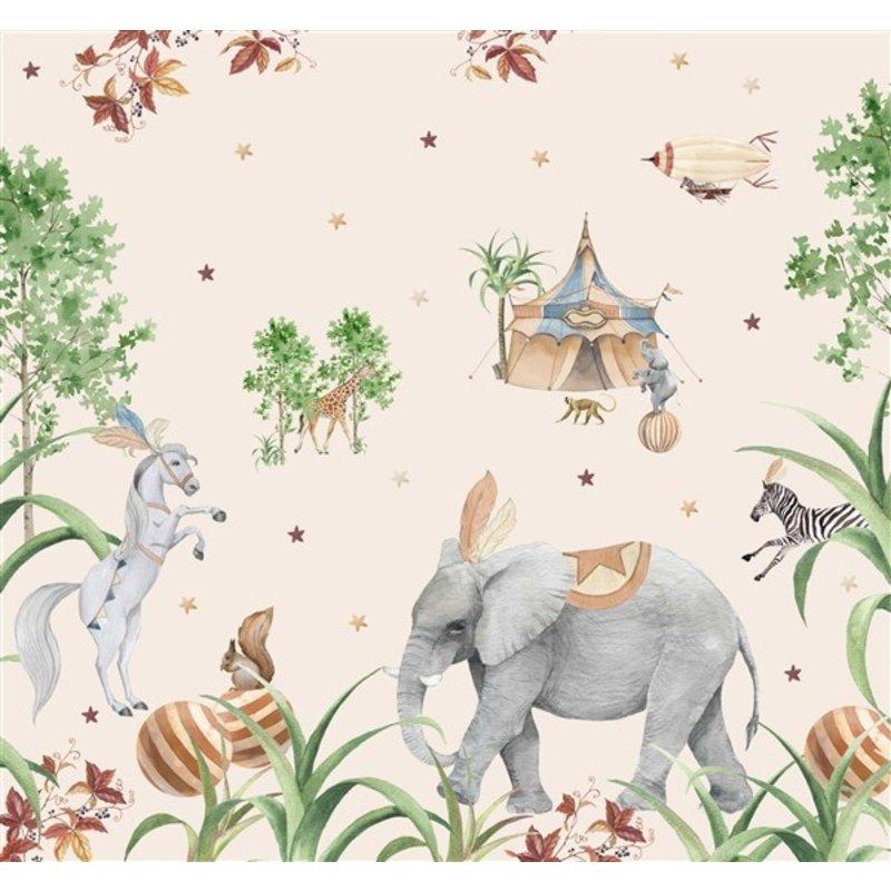 Creative Lab Amsterdam-collectie Elephant Wallpaper Mural