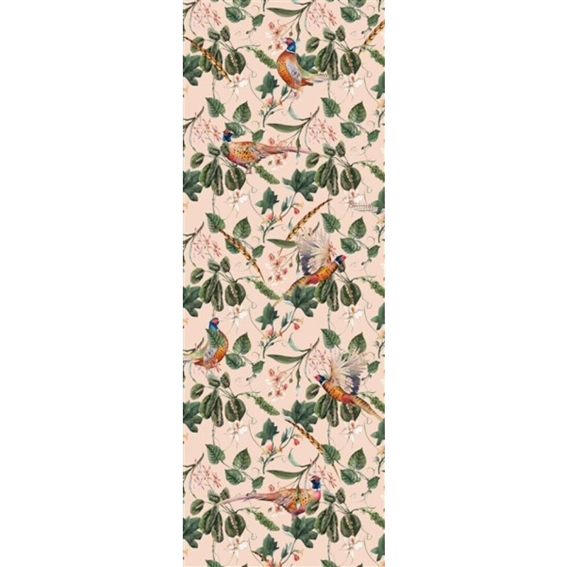 Creative Lab Amsterdam-collectie Floral Pheasant Sunset Wallpaper Mural
