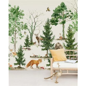 Creative Lab Amsterdam Forrest  Wallpaper Mural