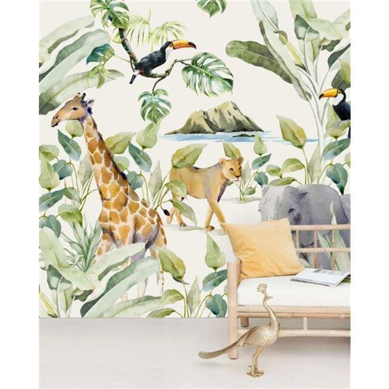 Creative Lab Amsterdam-collectie On the Island Wallpaper Mural