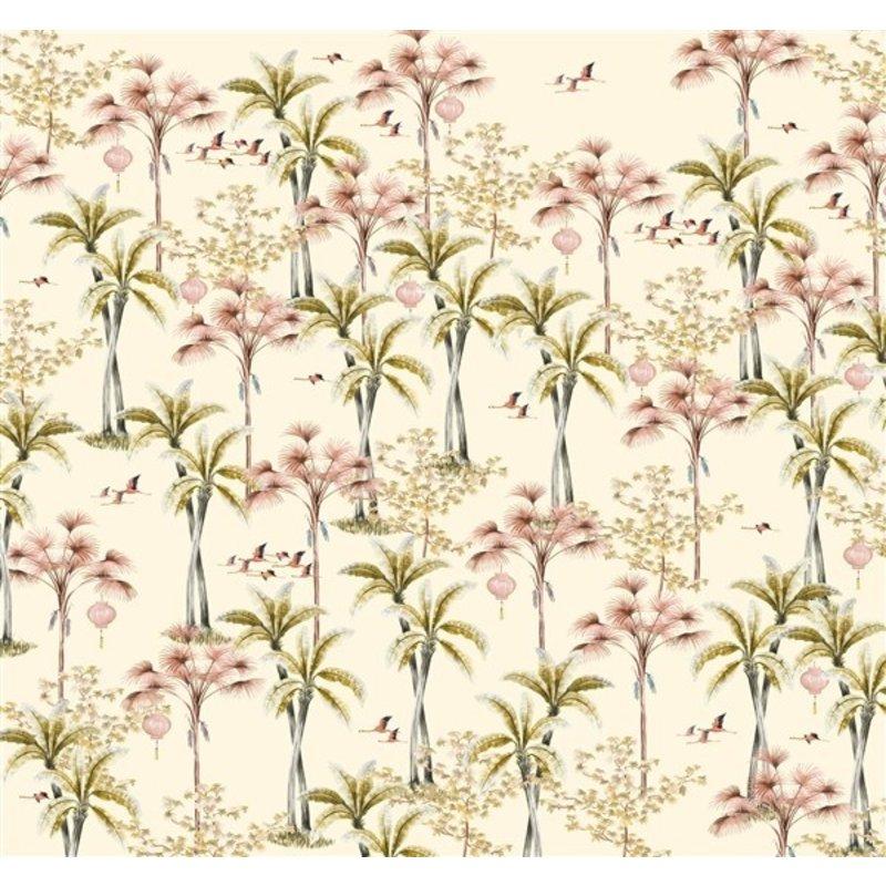 Creative Lab Amsterdam-collectie Oriental Flamingo Wallpaper Mural