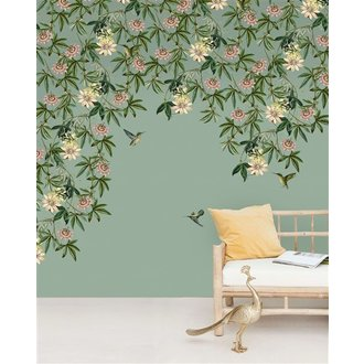 Creative Lab Amsterdam Passionate Colibri Wallpaper Mural