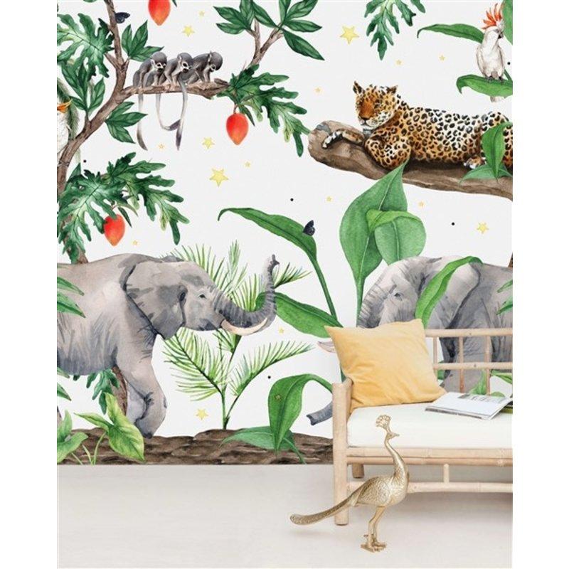 Creative Lab Amsterdam-collectie Ravi Wallpaper Mural