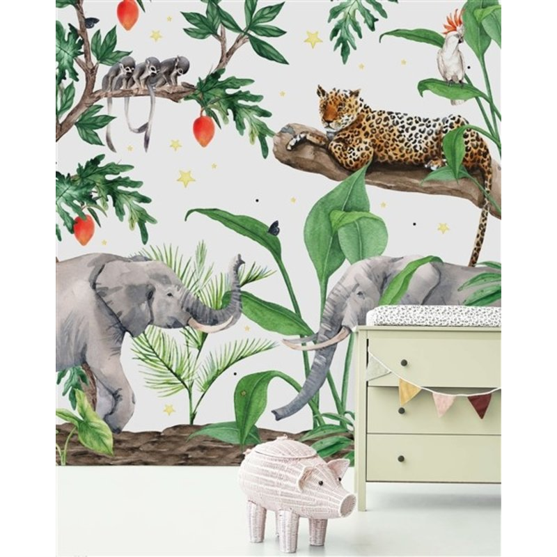 Creative Lab Amsterdam-collectie Ravi behang Mural
