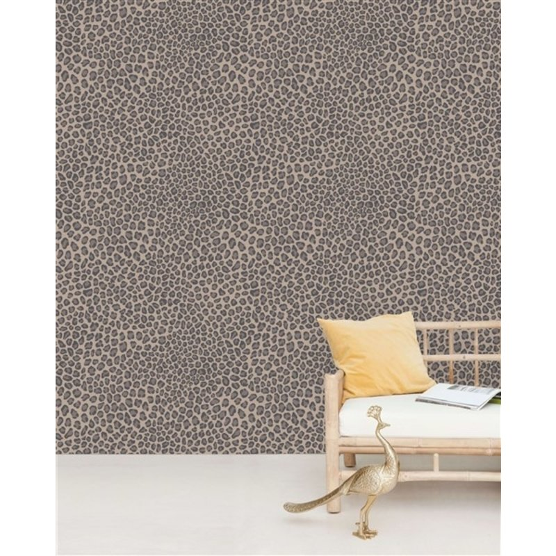 Creative Lab Amsterdam-collectie Rocky Leopard Wallpaper Mural