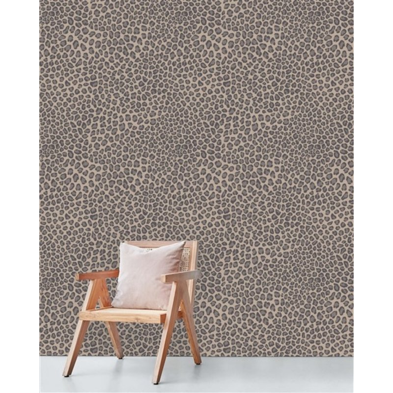 Creative Lab Amsterdam-collectie Rocky Leopard behang Mural