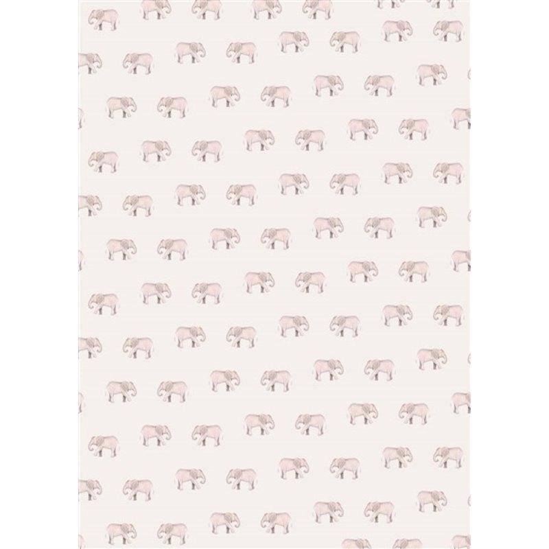 Creative Lab Amsterdam-collectie Safari Elephant Wallpaper Mural