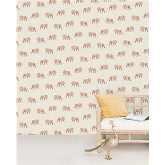 Creative Lab Amsterdam Safari King Wallpaper Mural